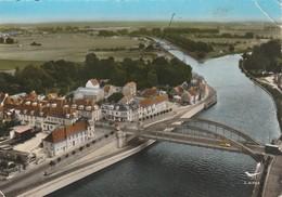 Oise : PONT SAINTE MAXENCE : Vue Aérienne - Le Pont Sur L'oise : Photo. Vérit.  Lapie Service Aérien ( Grand Format ) - Pont Sainte Maxence