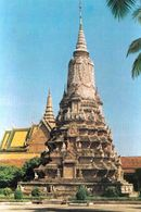 1 AK Kambodscha * Stupa Von König Norodom In Der Hauptstadt Phnom Penh * - Kambodscha