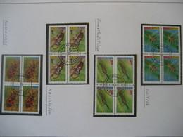 Bulgarien 1993- Insekten Viererblock Mi. 4093-4096 - Gebraucht