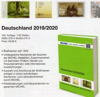 Deutschland-Briefmarken MICHEL 2019/2020 Neu 60€ D: AD Baden Bayern DR 3.Reich Danzig Saar SBZ DDR Berlin FZ AM BRD - Crónicas & Anuarios