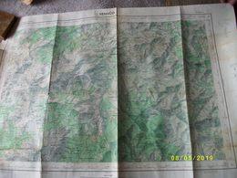 2 Cartes: 1 De GALERIA 1971 - Cartes Topographiques