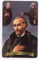 Santino Plastificato SAN GIOVANNI LEONARDI, Fondatore Dell'Ordine Della Madre Di Dio - OTTIMO R12 - Religione & Esoterismo