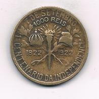 1000 REIS 1922 BRAZILIE /5411/ - Brésil