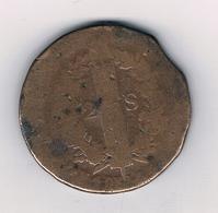 2 SOL 1792 BB  FRANKRIJK /5414/ - 1789-1795 Monnaies Constitutionnelles