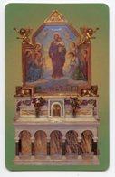 Brindisi - Santino Plastificato SAN GIUSEPPE, Parrocchia Sacro Cuore - OTTIMO R12 - Religione & Esoterismo