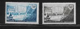 SAINT PIERRE ET MIQUELON  ( SPM4 - 3 )   1955  N° YVERT ET TELLIER  N° 348/349  N** - St.Pierre & Miquelon
