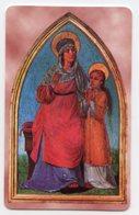 Vallepietra RM - Santino Plastificato SANT'ANNA, ( Tavola Di Benigni) Santuario SS Trinità - OTTIMO R12 - Religione & Esoterismo