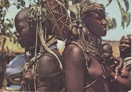POSTCARD AFRICA - ANGOLA   - ETHNIC - BELEZAS E COSTUMES DE ANGOLA - Angola