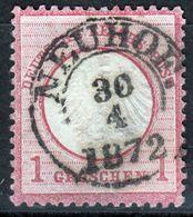 """""""NEUHOF"""" Zentrischer Vollstempel Auf Nr. 4 - Deutschland"""