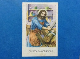 SANTINO HOLY CARD CRISTO LAVORATORE - Santini