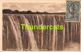 CPA ZIMBABWE VICTORIA FALLS MAIN FALL IN FULL FLOOD - Zimbabwe