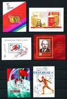 Rusia - LOTE (14 Hojas Bloque Diferentes) Nuevo - 1923-1991 URSS