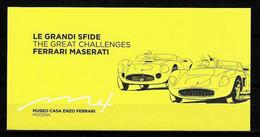 Biglietto - 2013 MODENA LE GRANDI SFIDE FERRARI MASERATI Al Museo Casa Enzo Ferrari - Biglietti D'ingresso
