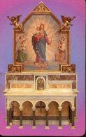 Brindisi  - Santino Plastificato MARIA SS. AUSILIATRICE, Parrocchia Sacro Cuore - OTTIMO R12 - Religione & Esoterismo