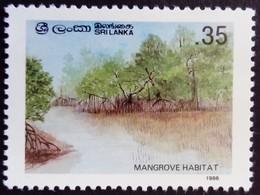 Sri Lanka 1986 Fleur Flower Mangrove Yvert 781 ** MNH - Sri Lanka (Ceylon) (1948-...)