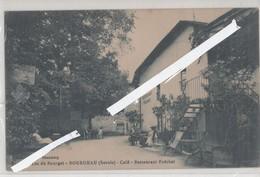 LOT 0823 BOURDEAU CAFE RESTAURANT FOECHAT BORDS DU LAC DU BOURGET - France