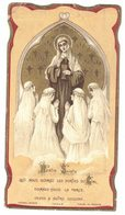 CHROMO MOREL 19205 HOSTIE SAINTE QUI NOUS OUVREZ LES PORTES DU IMAGE PIEUSE RELIGIEUSE  HOLY CARD SANTINI HEILIG PRENTJE - Santini