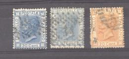 07075  -  Italie  :  Yv  23-24  (o)  Avec 23a - Usados