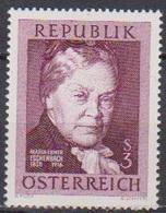 Österreich 1966 Nr.1203  ** Postfr. 50.Todestag Marie Von Ebner-Eschenbach( 8725) Günstige Versandkosten - 1961-70 Ungebraucht