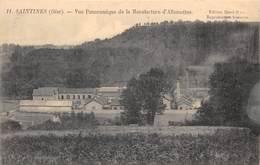 60-SAINTINES- VUE PANORAMIQUE DE LA MANUFACTURE D'ALLUMETTES - Autres Communes