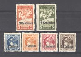 07091  -  Italie  -  Occupation Autrichienne  :  Yv  21-26  * - 8. Besetzung 1. WK