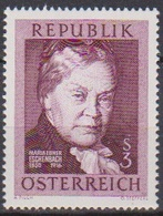 Österreich 1966 Nr.1203  ** Postfr. 50.Todestag Marie Von Ebner-Eschenbach( 8727) Günstige Versandkosten - 1961-70 Ungebraucht