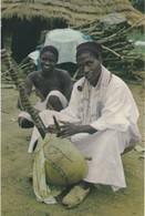 POSTCARD PORTUGAL - PORTUGUESE GUINEA - GUINÉ - TOCADOR DE  KORA  ( MANDINGA, - FULACUNDA ) - ETHNIC - Guinea-Bissau