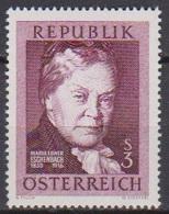 Österreich 1966 Nr.1203  ** Postfr. 50.Todestag Marie Von Ebner-Eschenbach( 8728) Günstige Versandkosten - 1961-70 Ungebraucht