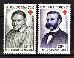 FRANCE 1958 - SERIE Y.T. N° 1187 Et 1188  - 2 TP NEUFS** - France