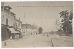 CPA [78] Yvelines > Conflans Sainte Honorine ( Fin D'Oise ) - La Place Fouillères ( Dos Non Divisé ) - Conflans Saint Honorine