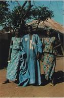 POSTCARD PORTUGAL - PORTUGUESE GUINEA - GUINÉ - MANDINGAS  - ETHNIC - Guinea-Bissau