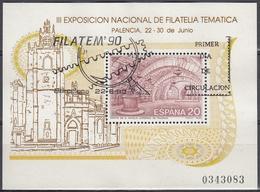 ESPAÑA 1990 Nº HB-3074 USADO 1º DIA - 1931-Hoy: 2ª República - ... Juan Carlos I