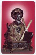 Amalfi - Santino Plastificato SANT'ANDREA APOSTOLO, Cattedrale - OTTIMO R12 - Religione & Esoterismo
