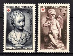 FRANCE 1950 - Y.T. N° 876 / 877  - NEUFS** / 8 - France