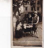 20 / ILE ROUSSE / SOUVENIR FOIRE D ILE ROUSSE 1929 / RARE ET TRES BELLE CARTE PHOTO / MAGNIFIQUE FEMME CORSE - Otros Municipios