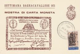 Cartolina - Postcard / Non Viaggiata - Unsent / Convegno Filatelico Numismatico Bagnacavallo 1973 - Manifestazioni