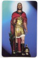 Lodi Vecchio - Santino Plastificato SAN FERMO MARTIRE, Basilica Apostolorum S. Bassiano - OTTIMO R12 - Religione & Esoterismo