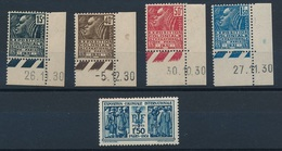 CZ-73: FRANCE:lot Avec  N°270/274** - Unused Stamps