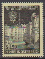 Österreich 1966 Nr.1202  ** Postfr. 100 Jahre Generaldirektion Für Post- U. Telegraphenver( 8731) Günstige Versandkosten - 1961-70 Ungebraucht