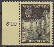 Österreich 1966 Nr.1202  ** Postfr. 100 Jahre Generaldirektion Für Post- U. Telegraphenver( 8732) Günstige Versandkosten - 1961-70 Ungebraucht