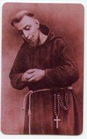 Boario Terme BS  - Santino Plastificato BEATO INNOCENZO DA BERZO, Cappuccino, Santuario Madonna Della Neve - OTTIMO R12 - Religione & Esoterismo