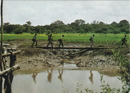 POSTCARD PORTUGAL - PORTUGUESE GUINEA - GUINÉ BISSAU - MILITAR - COLONIAL WAR - Guinea-Bissau