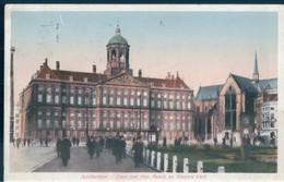 POSTAL HOLANDA - AMSTERDAM - DAM MET KON - PALEIS EN NIEUWE KERK - Amsterdam