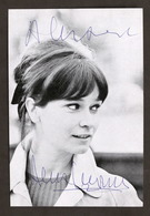 Televisione Cinema - Autografo Dell'attrice Anna Maria Guarnieri - Anni '60 - Autografi