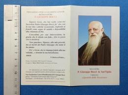 SANTINO HOLY CARD PADRE GIUSEPPE BOCCI DA SANT'ELPIDIO - Santini