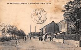 ¤¤   -  BASSE-INDRE    -  Quai Langlois, Vers Les Forges     -   ¤¤ - Basse-Indre