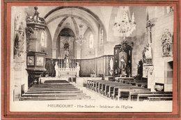 CPA - MEURCOURT (70) - Aspect De L'intérieur De L'Eglise Dans Les Années 20 - Frankreich