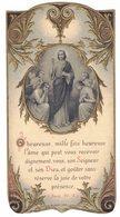 SIGEAN SOUVENIR BOUASSE GAUFRE BONNET HEUREUSE MILLE FOIS IMAGE PIEUSE RELIGIEUSE  HOLY CARD SANTINI HEILIG PRENTJE - Devotion Images
