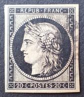 R1568/33 - CERES N°3 - Cachet à Date - LUXE - 1849-1850 Cérès