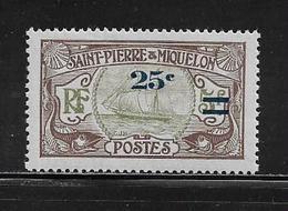 SAINT PIERRE ET MIQUELON  ( SPM4 - 36 )   1924  N° YVERT ET TELLIER  N° 120  N** - St.Pedro Y Miquelon